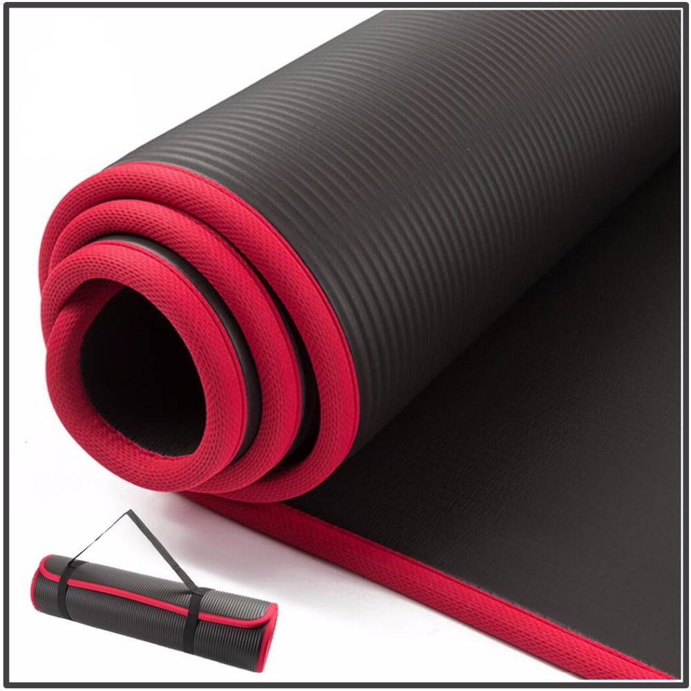 Thick Yoga Mat with Locked Edge