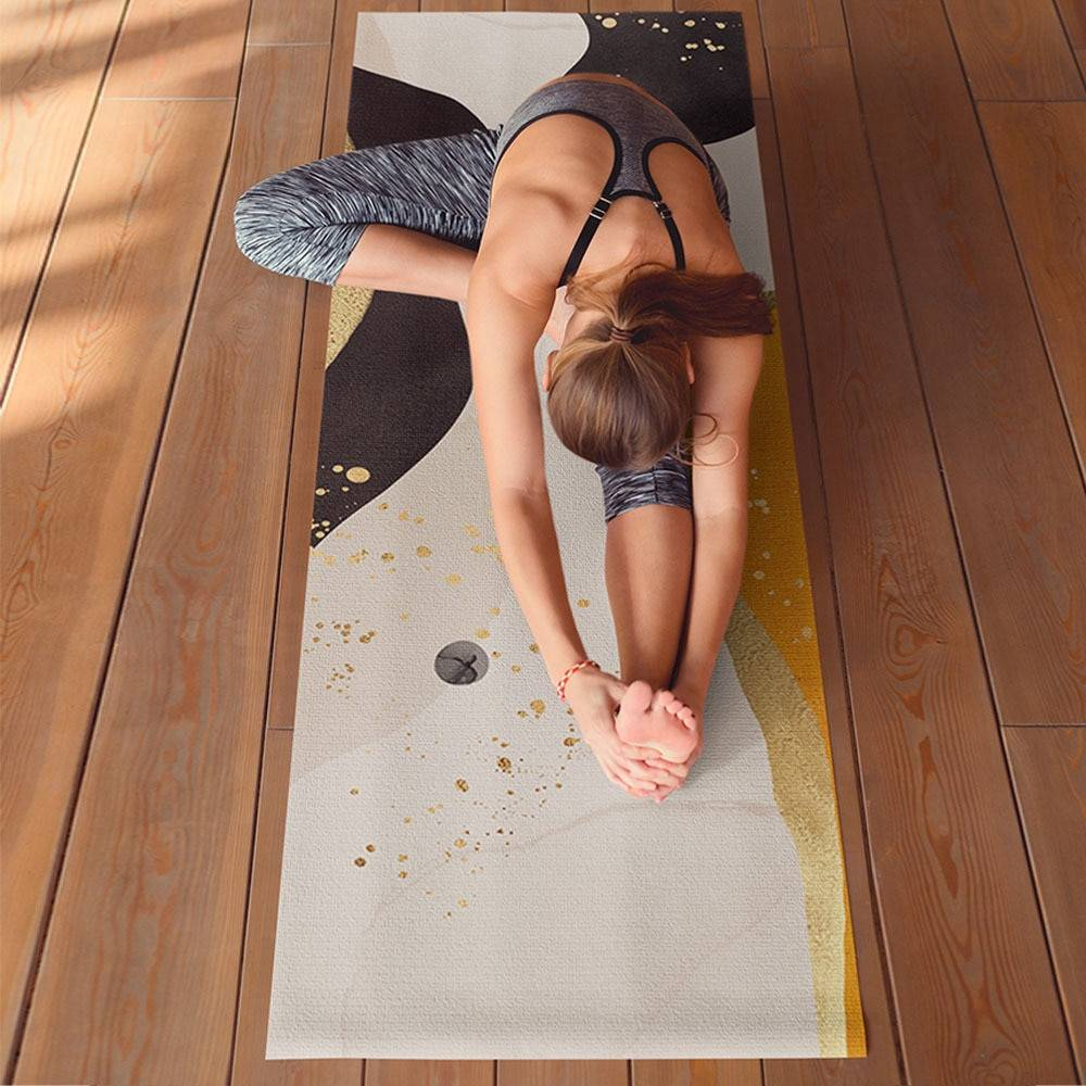 Marble Pattern Fitness Mat