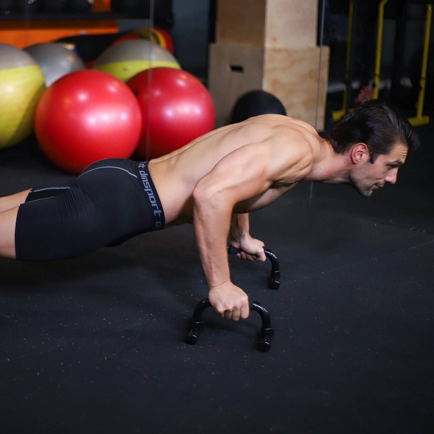 Push-Up Rack for Workout